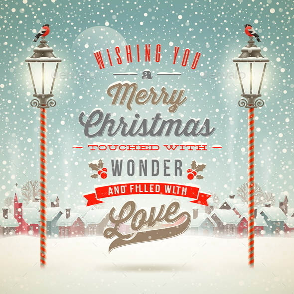 Christmas Greeting Type Design - Christmas Seasons/Holidays