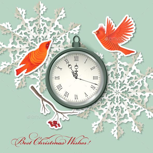 Scrapbook Christmas Background - Christmas Seasons/Holidays