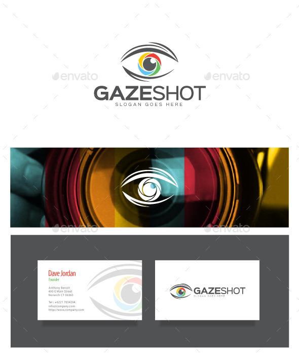 Gaze Shot - Photography Logo - Objects Logo Templates