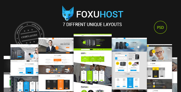 Foxuhost – Hosting / Business Template