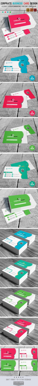 Corprate Business Card Design V03 - Corporate Business Cards