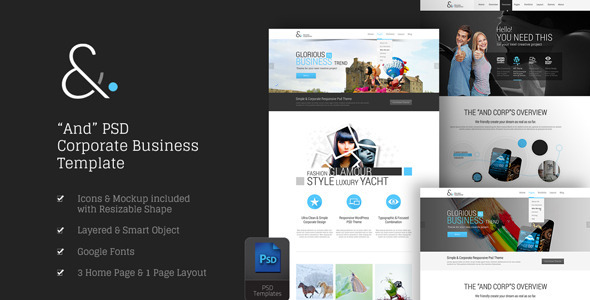 And Corporate PSD