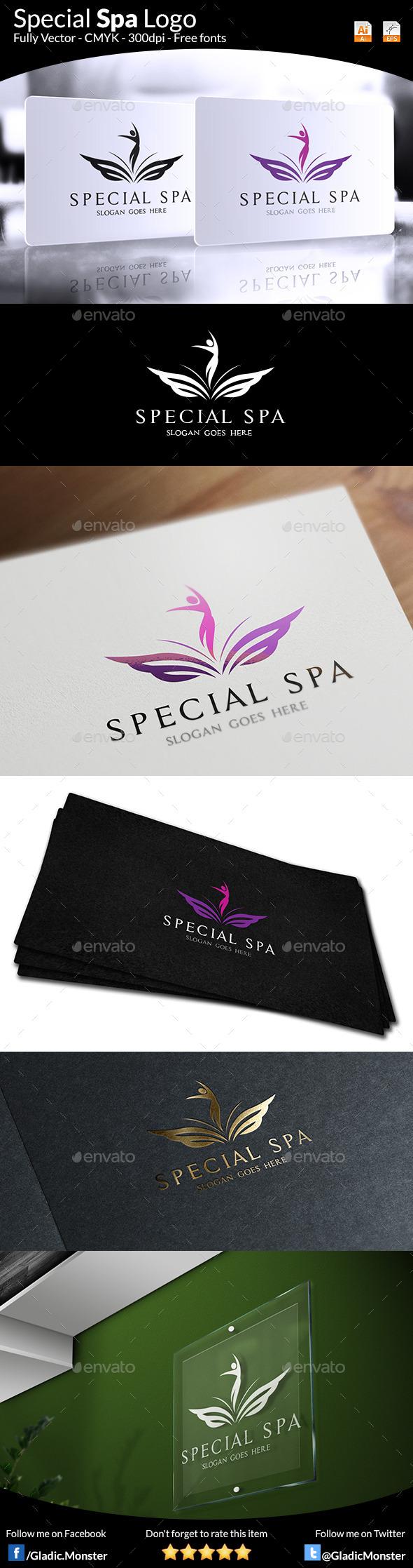 Special Spa Salon Logo - Symbols Logo Templates
