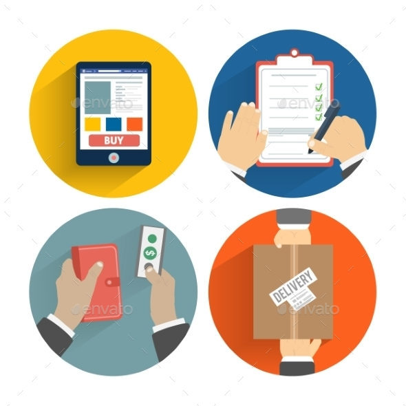 Order of the Goods Payment and Delivery - Services Commercial / Shopping