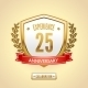 Anniversary Label Shield - GraphicRiver Item for Sale