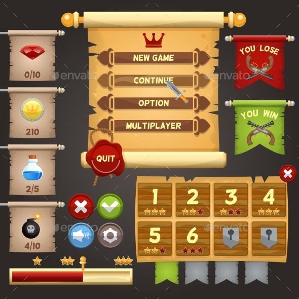 Game Interface Design - Web Technology