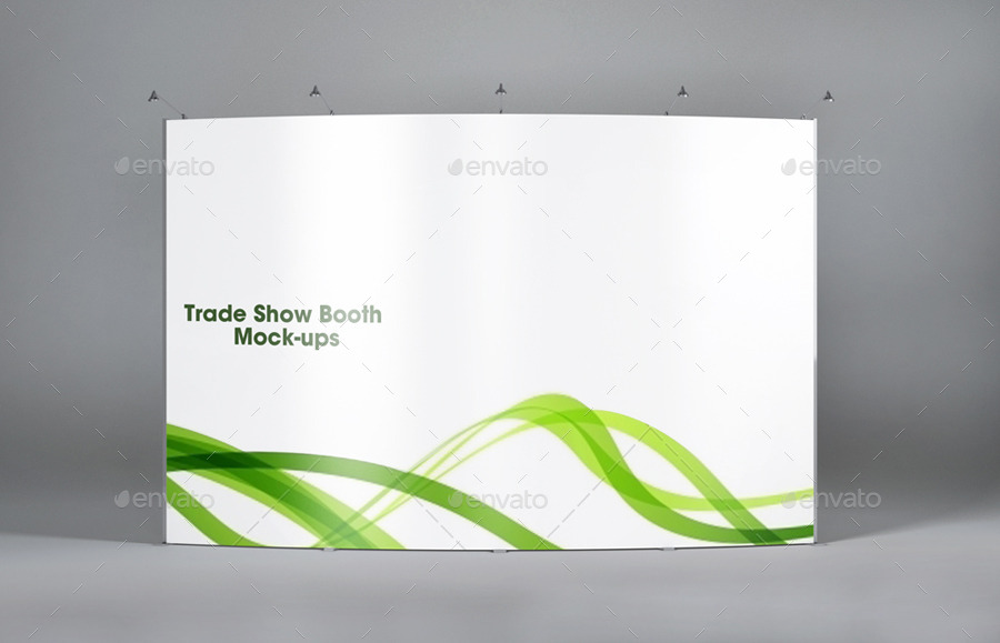 Exhibition Booth Mockup Free : Trade show booth mockups v by redone graphicriver