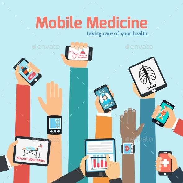 Mobile Health Concept - Health/Medicine Conceptual