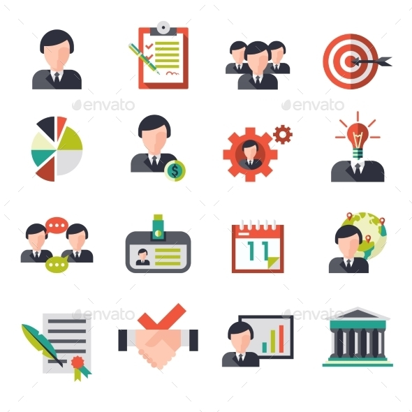 Business Management Icons - Business Icons