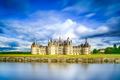 Chateau de Chambord, Unesco medieval french castle and reflectio - PhotoDune Item for Sale