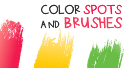 Color Spots and Brushes