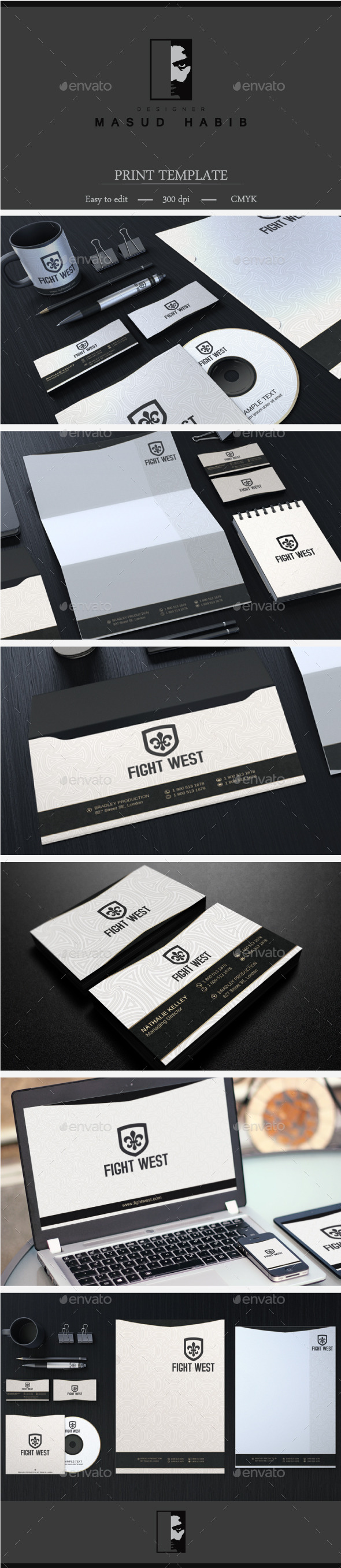 Creative Corporate Identity 24 - Stationery Print Templates