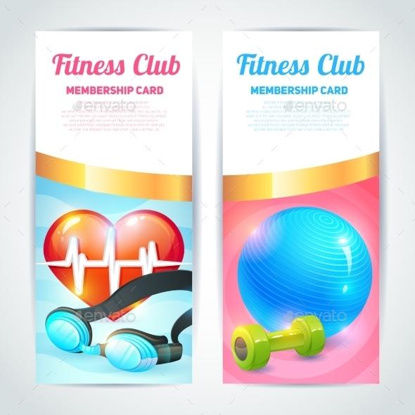 Fitness Club Card Design - Sports/Activity Conceptual