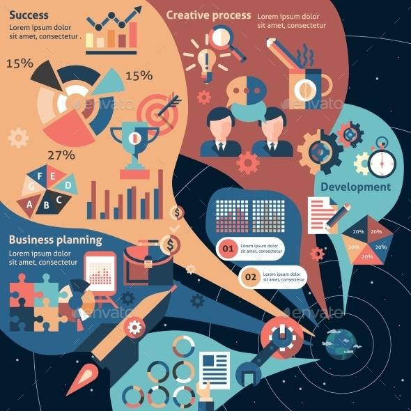 Creative Infographic Set - Infographics