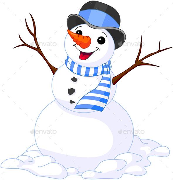 Christmas Snowmen - New Year Seasons/Holidays