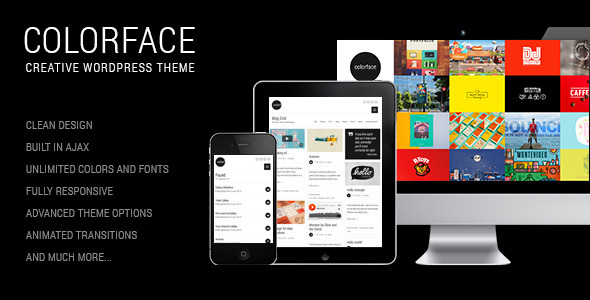 Colorface - Creative WordPress Theme