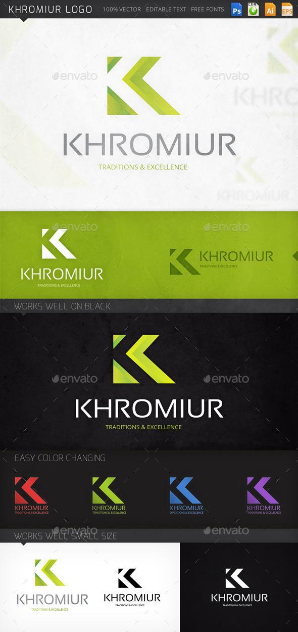 Khromiur Letter K Logo Template - Letters Logo Templates