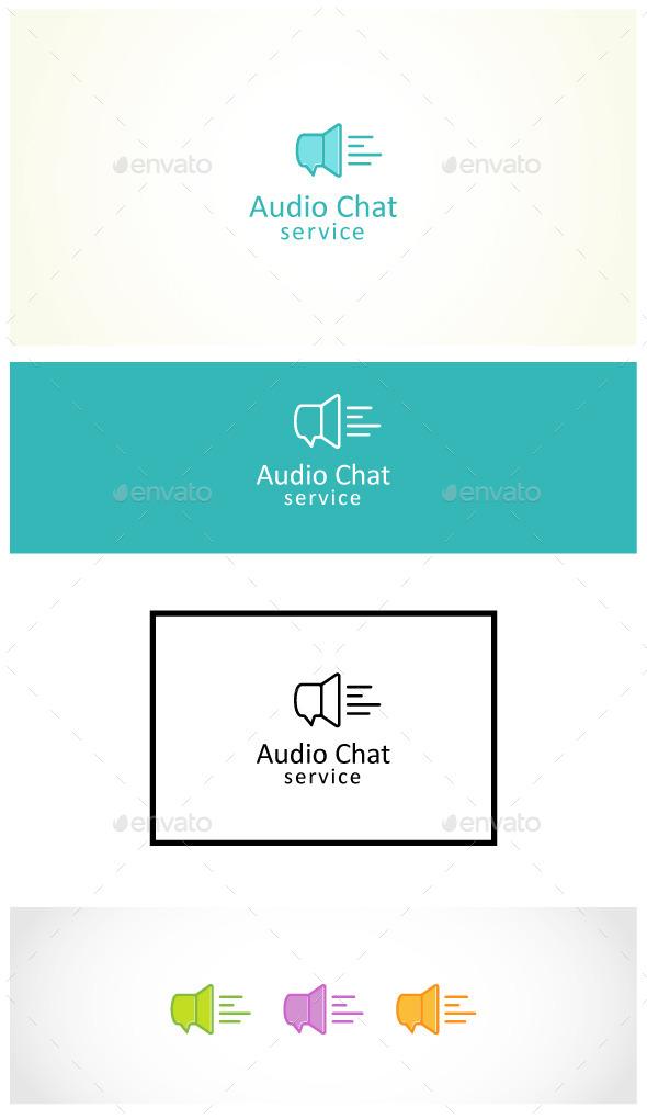 Voice Chat - Symbols Logo Templates
