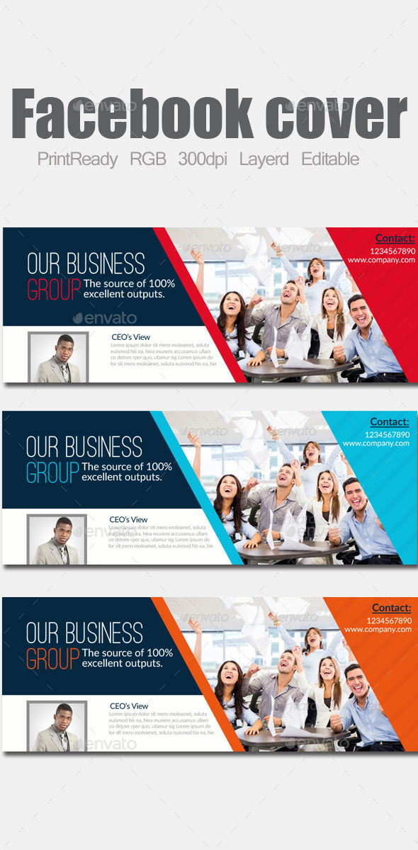 Business Facebook Cover  - Facebook Timeline Covers Social Media