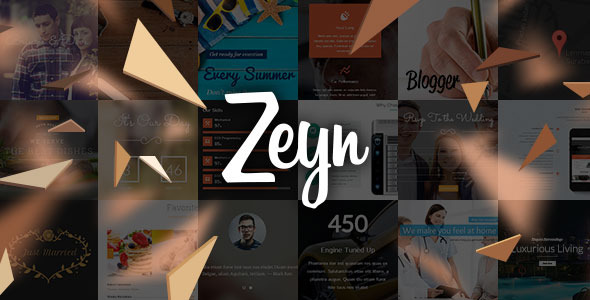 Zeyn - Multipurpose WordPress Theme - Business Corporate
