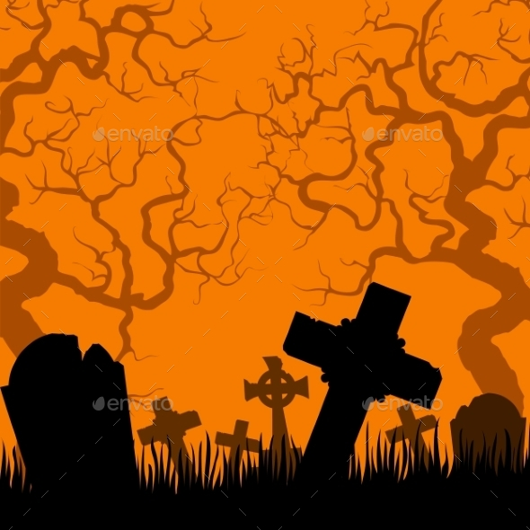 Old Cemetery  - Halloween Seasons/Holidays