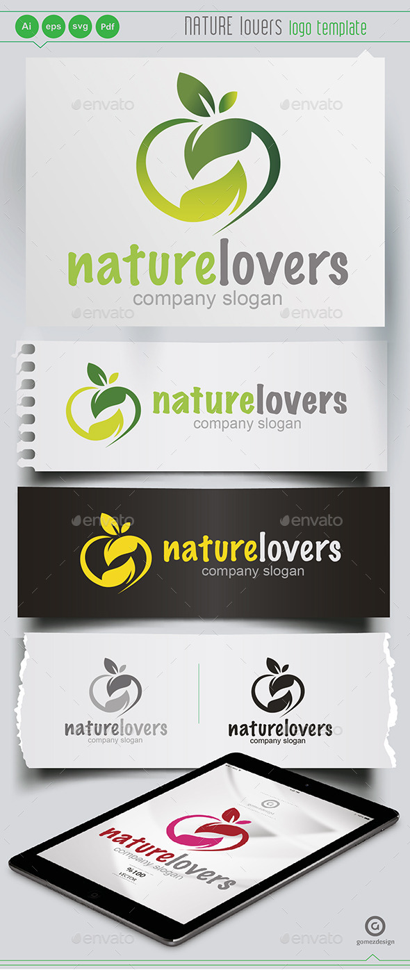 Nature Lovers - Logo Templates