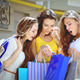 Three Cute Girls Discuss Their Shopping - VideoHive Item for Sale