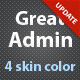 Great Admin theme Nulled