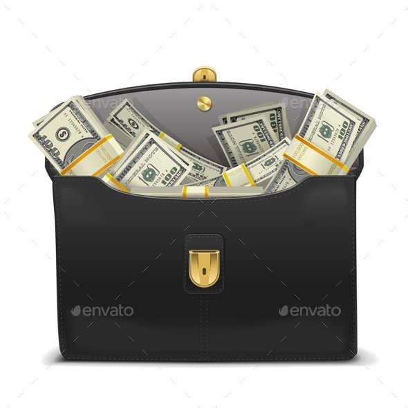Case with Money - Business Conceptual