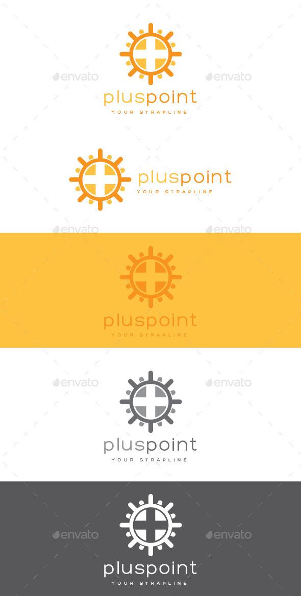 Plus Point Logo - Symbols Logo Templates