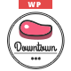Downtown - Restaurant WordPress Theme Nulled