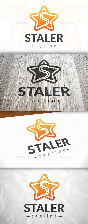 Star S Letter Logo - Letters Logo Templates
