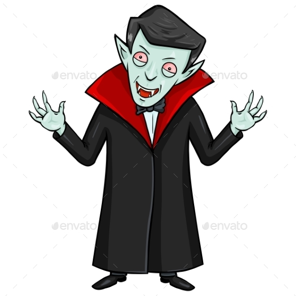Halloween Character - Evil Attacking Vampire - Halloween Seasons/Holidays