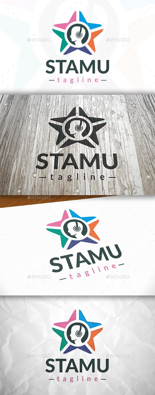 Star Music Logo - Vector Abstract
