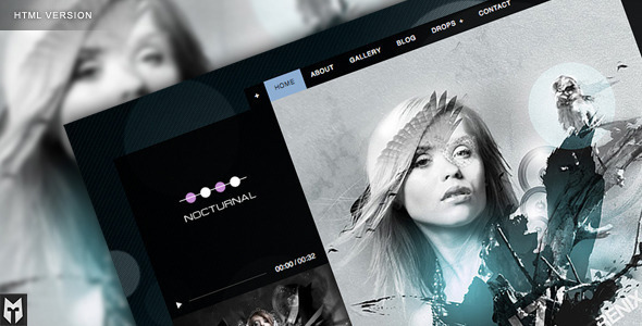 Free Download Nocturnal: Premier Audio HTML Theme Nulled Latest Version