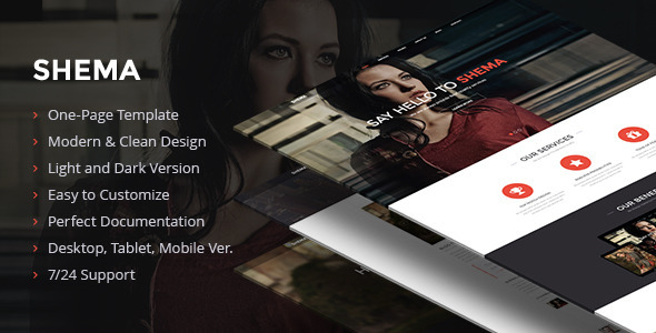Shema – Creative Muse Template