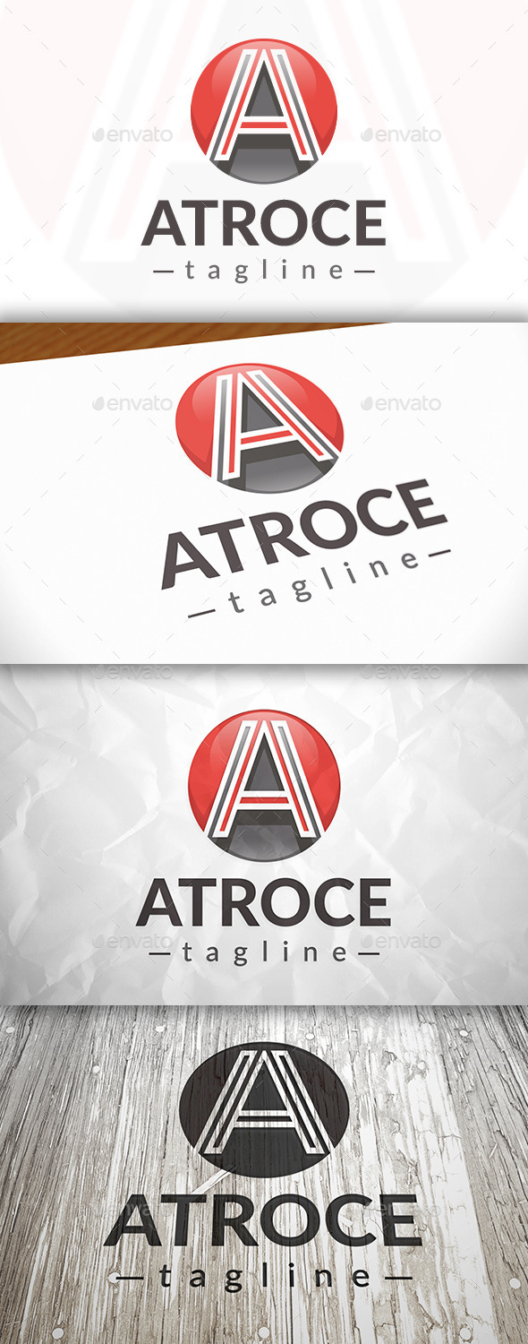 A Ball Logo - Letters Logo Templates