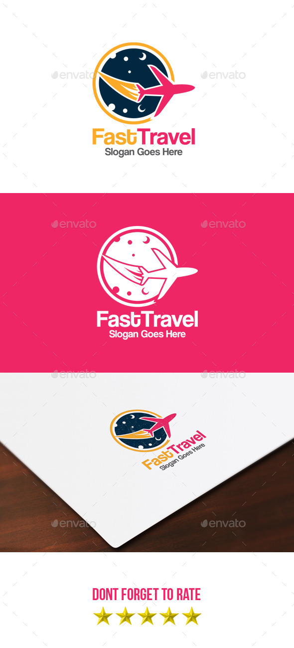 Fast Travel Logo - Objects Logo Templates