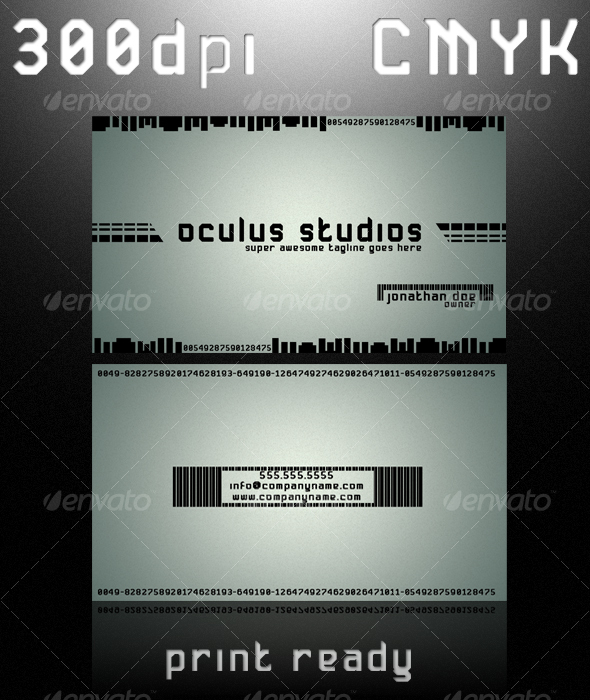 OCULUS BUSINESS CARD - Creative Business Cards