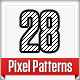 28 Pixel Patterns - GraphicRiver Item for Sale