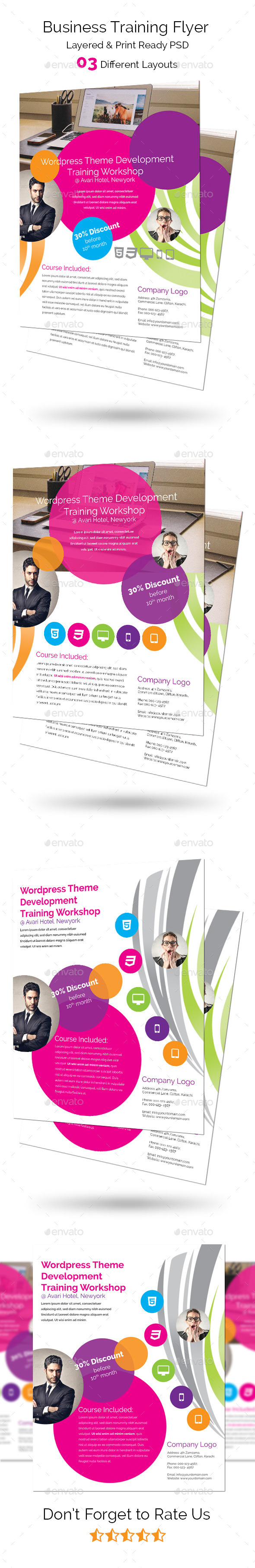 Business Training Flyer - Corporate Flyers
