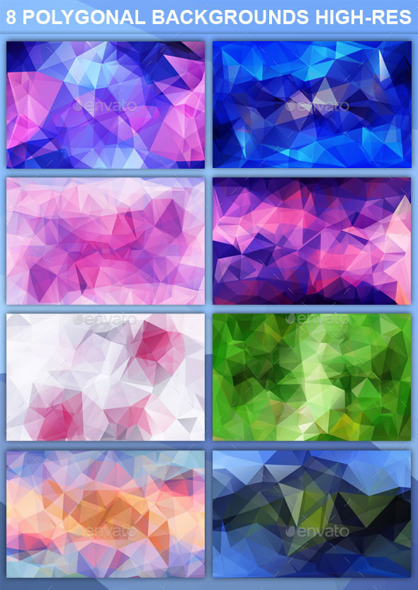 Super Polygonal Backgrounds High Resolution - Abstract Backgrounds