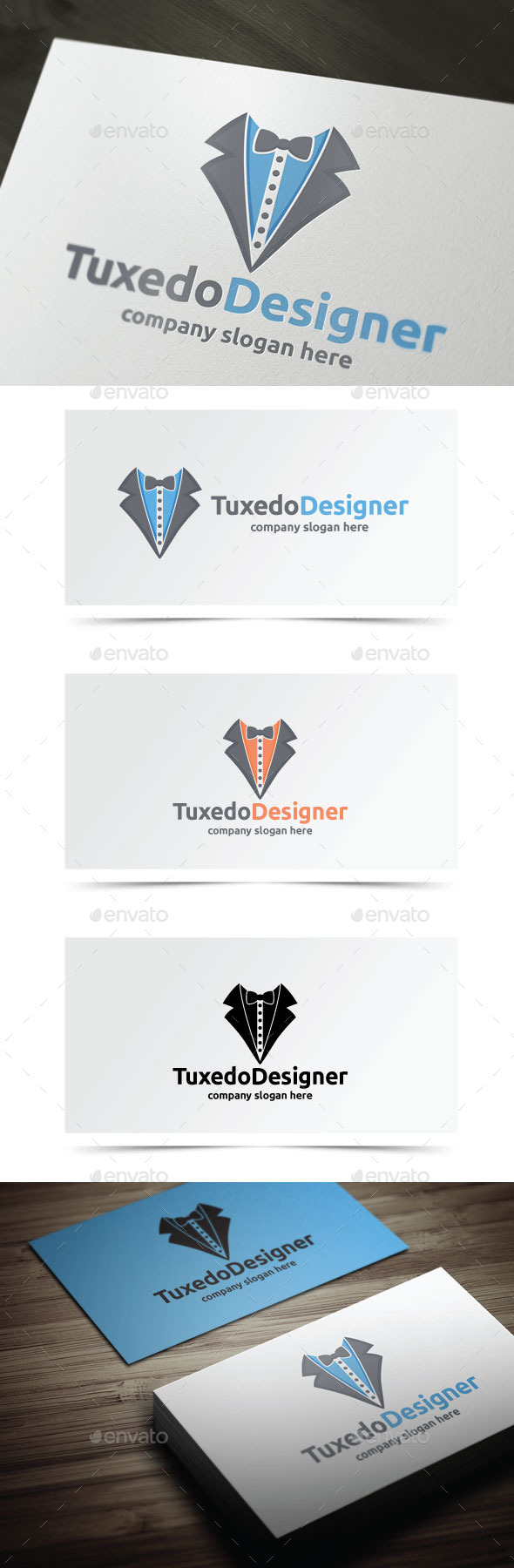 Tuxedo Designer - Objects Logo Templates