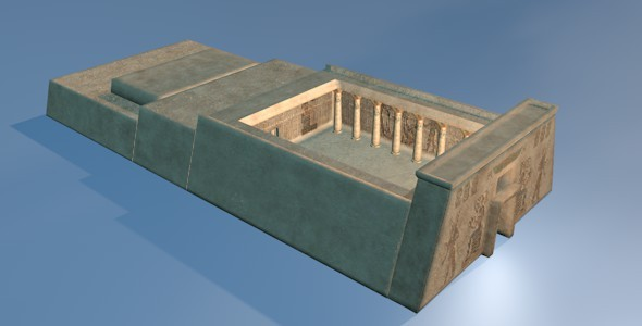Amazing Ancient Egyptian Temple - 3DOcean Item for Sale