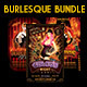Burlesque Flyers Bundle - GraphicRiver Item for Sale
