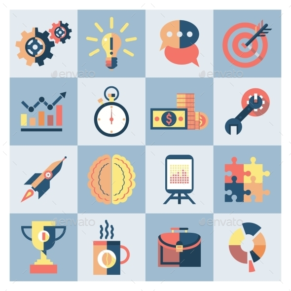 Creative Icons Set - Web Elements Vectors
