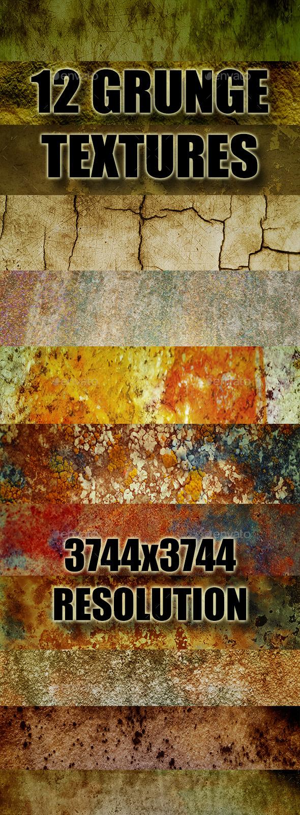 Grunge Texture Pack 1 - Industrial / Grunge Textures