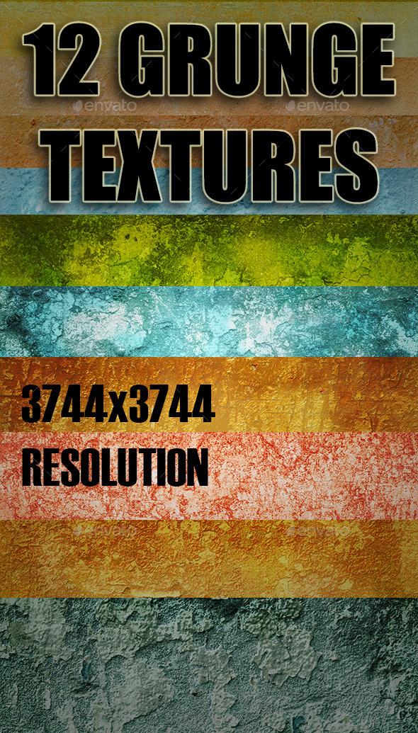 Grunge Texture Pack 2 - Industrial / Grunge Textures