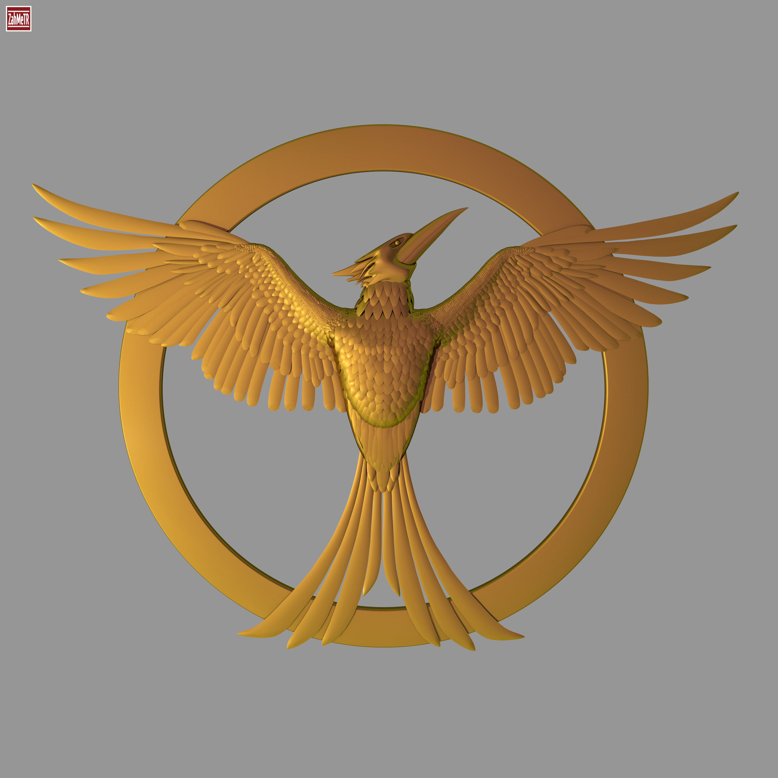 Mockingjay bird 3d model hunger games by zahmetr 3docean mockingjay bird 3d model hunger games biocorpaavc Choice Image