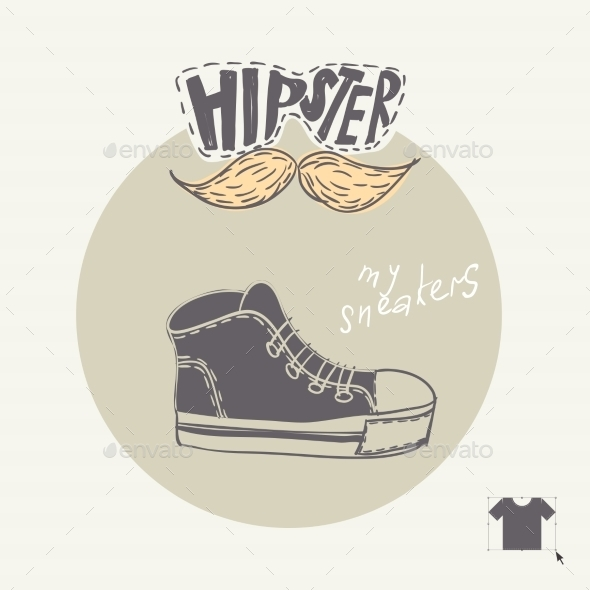 Sneakers Fashion Background - Backgrounds Decorative